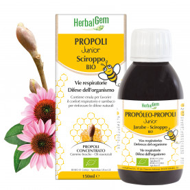 Propoli Junior Sciroppo - 150 ml | Herbalgem